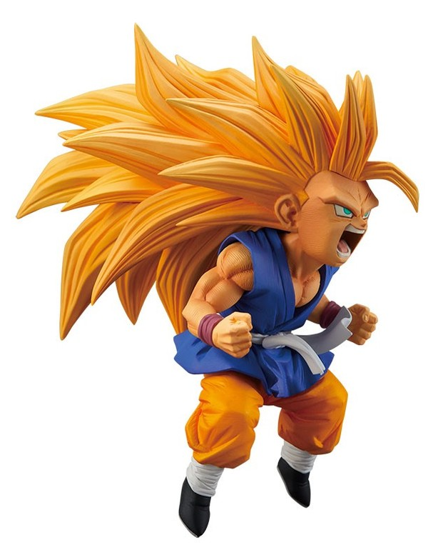 Dragon Ball: Super Saiyan 3 Son Goku – PVC Figure