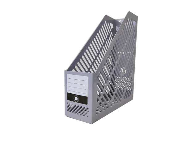 Office Supply Co: Magazine File - Silver
