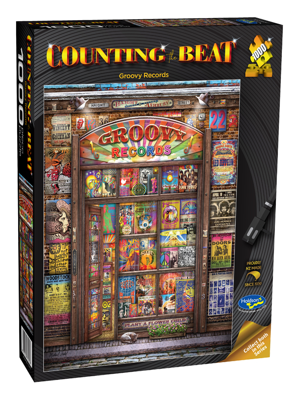 Holdson: 1000 Piece Puzzle - Counting The Beat (Groovy Records)