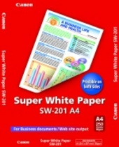 CANON A4 Super White uncoated plain paper (90 gsm / 250