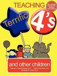 Teaching Terrific Fours by AnaLynn Jones image
