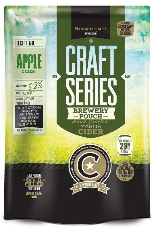 Mangrove Jack's: Craft Series - Apple Cider Pouch (2.4kg)