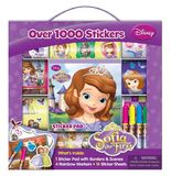 Disney - Sofia The First Sticker Box With Handle
