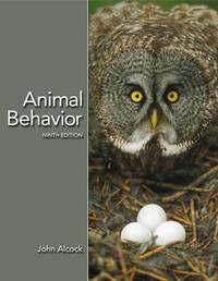 Animal Behavior: an Evolutionary Approach by John Alcock image