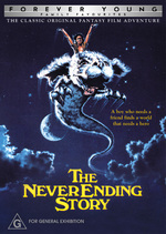 The NeverEnding Story on DVD