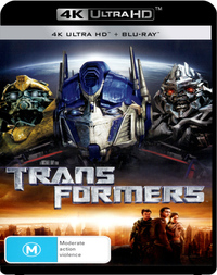 Transformers on UHD Blu-ray image