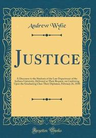 Justice by Andrew Wylie image