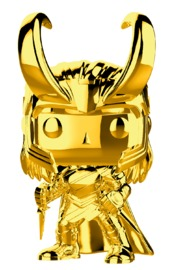 Marvel Studios - Loki Gold Chrome Pop! Vinyl Figure