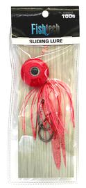 Fishtech 100g Slippery Slider Lure - Pink