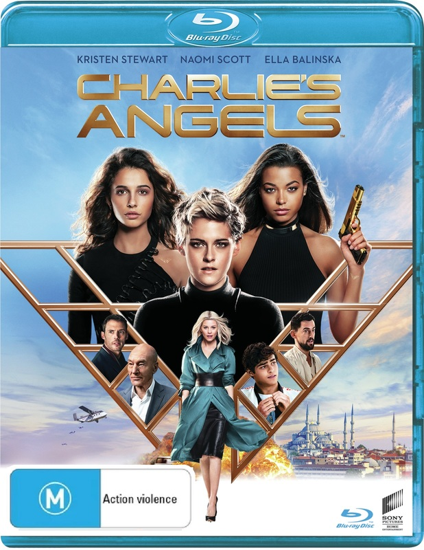 Charlie's Angels (2019) on Blu-ray