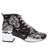 Irregular Choice: Head In The Clouds - Black (Size 41)