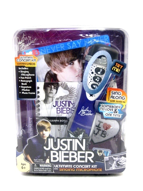 Justin Bieber Ultimate Concert Kit image