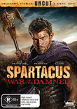 Spartacus: War of the Damned DVD