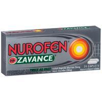 Nurofen - Zavance Caplets (24 Caplets)