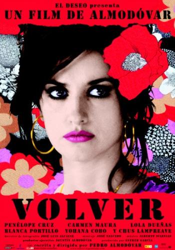 Volver on DVD image
