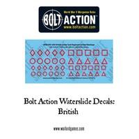 Bolt Action British Vehicle Decals