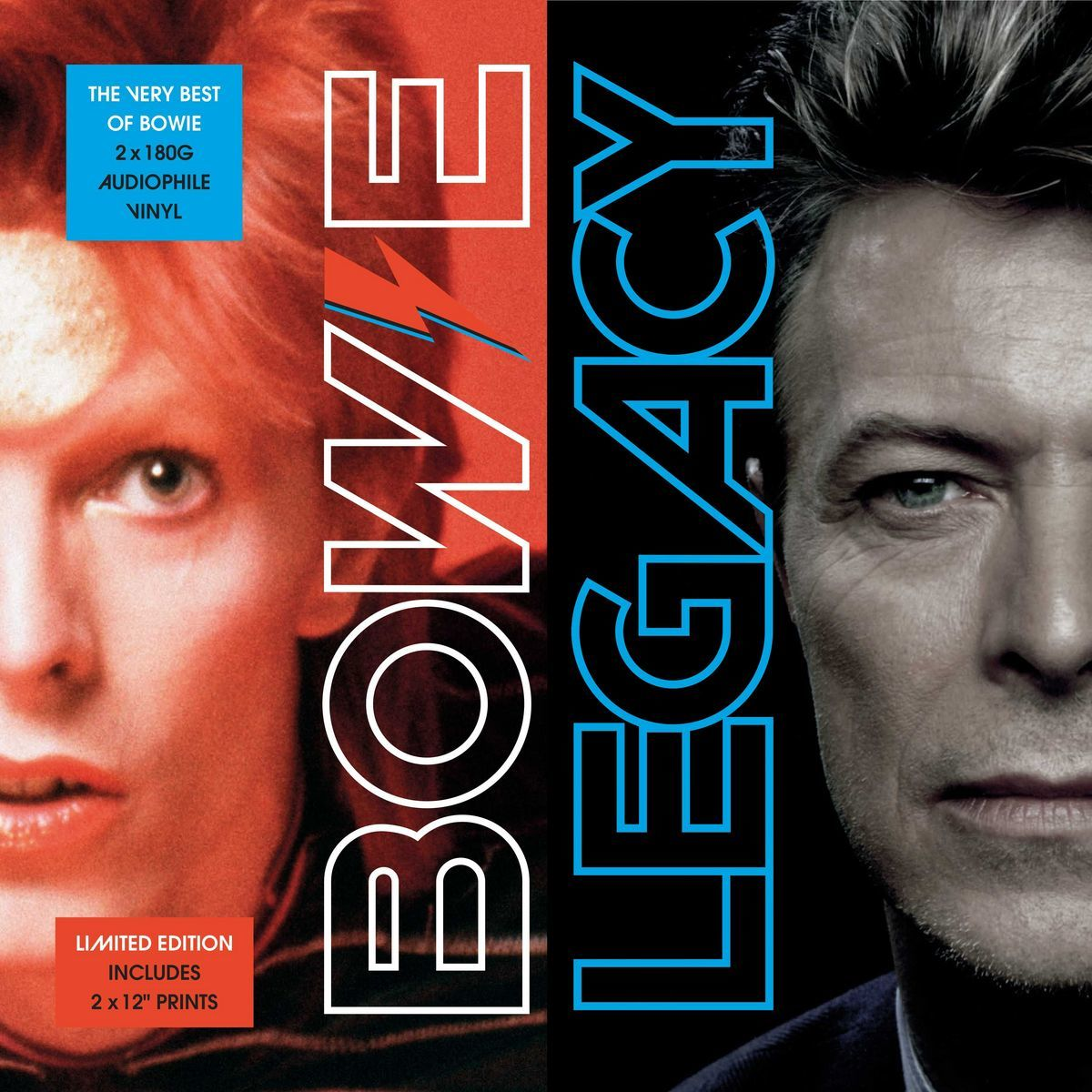 Legacy - The Very Best of David Bowie (2LP) by David Bowie image
