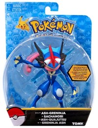 Pokémon: Action Pose Ash's Greninja - Figure