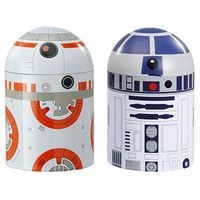 Star Wars Storage Containers - R2D2 & BB8