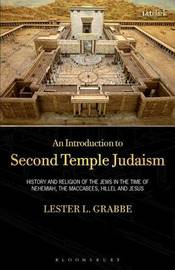 An Introduction to Second Temple Judaism by Lester L Grabbe