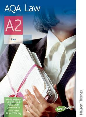 AQA Law A2 by Guy Blundell image