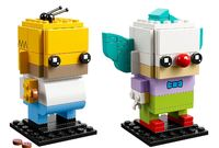 LEGO Brickheadz: Homer Simpson & Krusty the Clown (41632) image