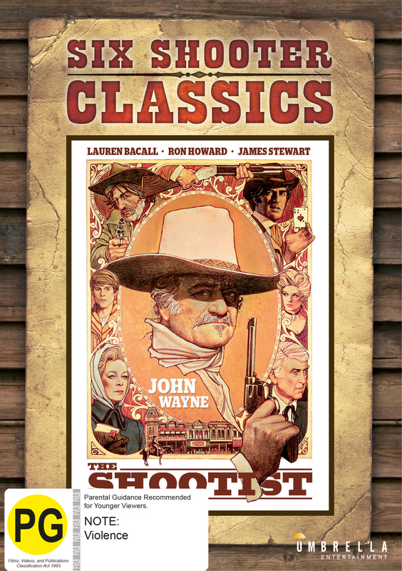 The Shootist (Six Shooter Classic) on DVD