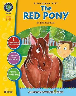 The Red Pony: Grades 7-8 by John Steinbeck image