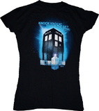 Doctor Who: Knock Knock Women's T-Shirt - Small