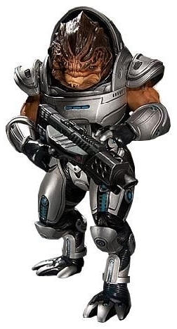 "Mass Effect 3 7"" Action Figure - Grunt (series 1)"