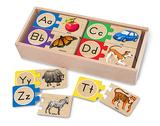Alphabet Letter Puzzles - Melissa & Doug
