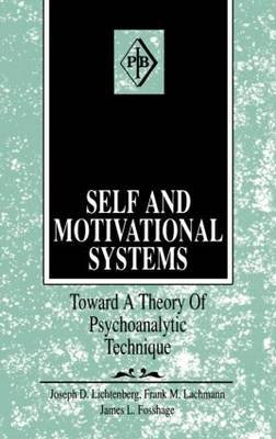 Self and Motivational Systems by J.D. Lichtenberg image