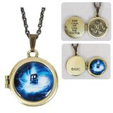 Doctor Who Gallifreyen Locket Necklace