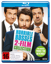Horrible Bosses 1&2 on Blu-ray