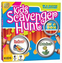 Kids Scavenger Hunt in a Box Card Game image