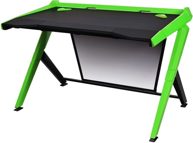 DXRacer Gaming Desk (Black & Green) for