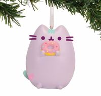 Pusheen Ornament - Pastel Purple