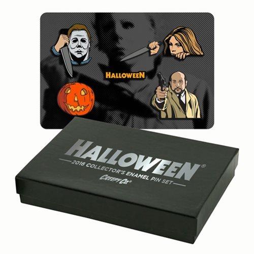 Halloween Collector's Enamel Pin Set (6-Pack)
