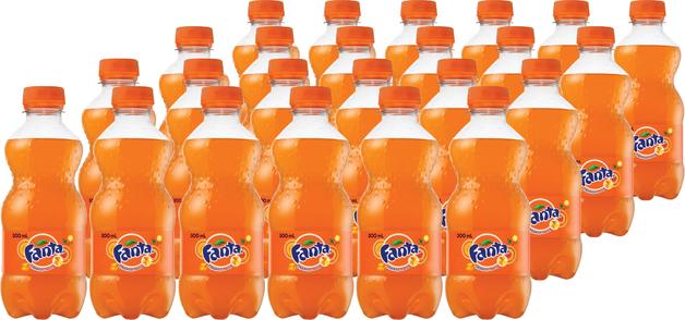 Fanta - Orange 300ml (24 Pack)