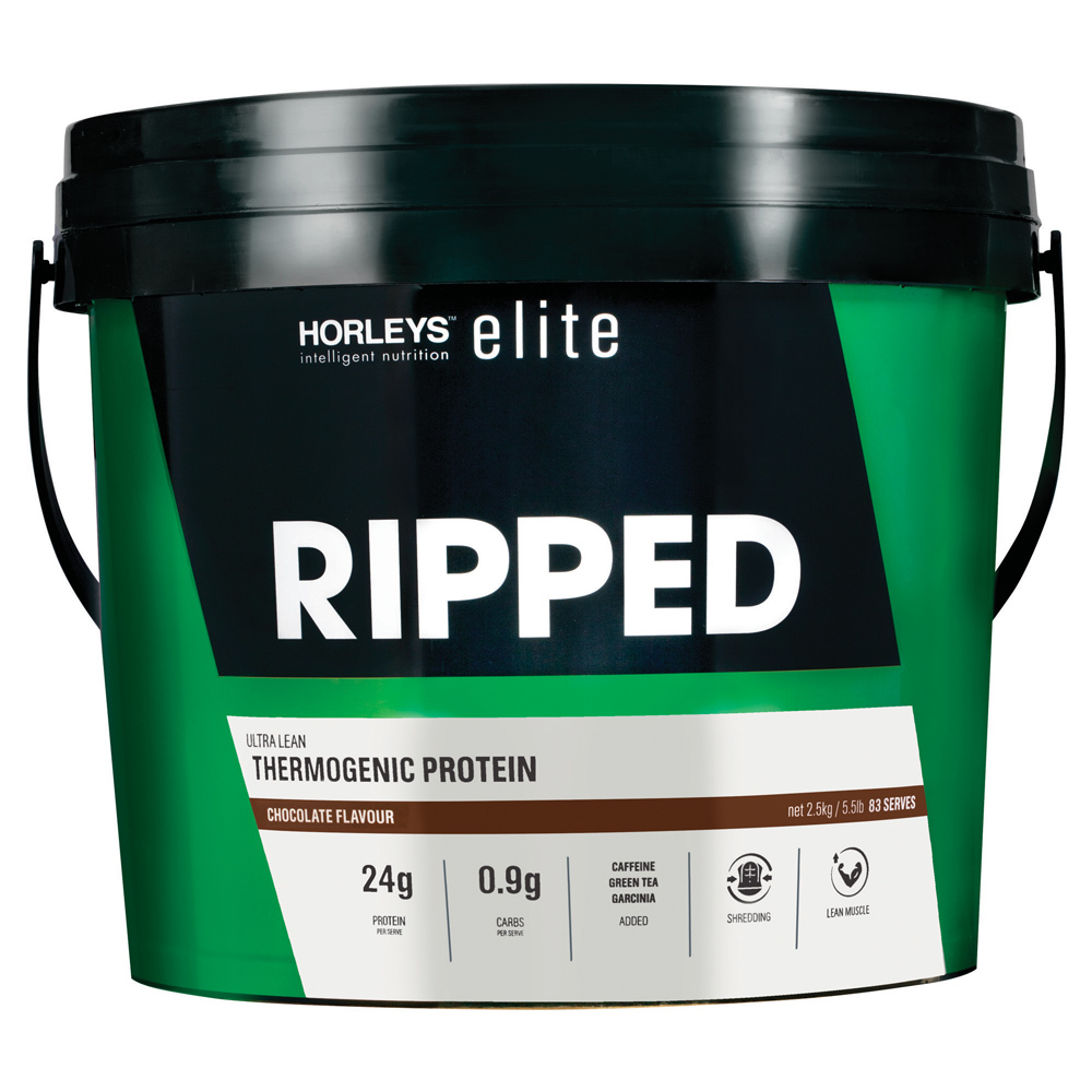 Horleys Ripped Thermogenic Protein - Chocolate (2.5kg) image