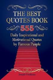 The Best Quotes Book by Joseph Goodman image