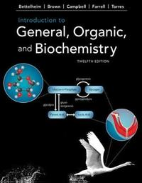 Introduction to General, Organic, and Biochemistry by William Brown