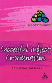 Successful Subject Co-ordination by Christine Farmery image