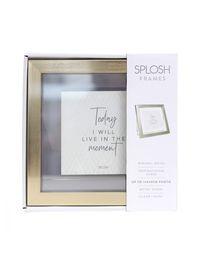 Splosh: Gold Fleur Frame
