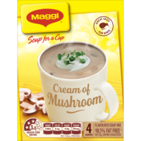 MAGGI Soup for a Cup Cream of Mushroom 62g 48pk image
