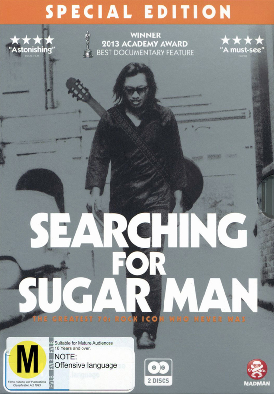 Searching for Sugar Man (Special Edition) on DVD