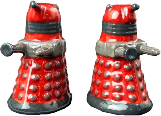 Doctor Who - Dalek Salt & Pepper Shaker Set