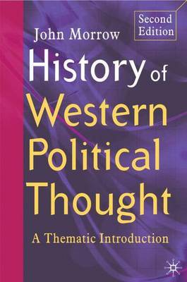 History of Western Political Thought by John Morrow image