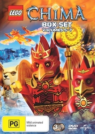 Lego Legends of Chima - Season 2 Volume 5-7 on DVD