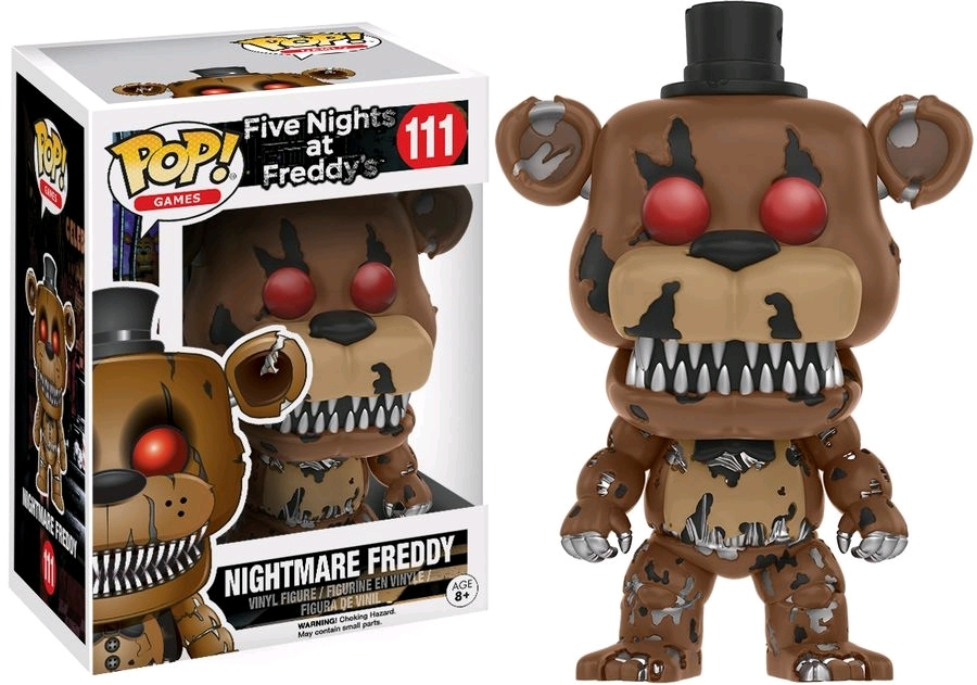 Five Nights at Freddy's - Nightmare Freddy Pop! Vinyl Figure image